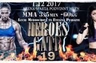 MMA - zápas Lucie Mudrochové, HG 19