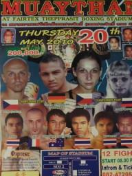 No fights, 20.5. 2010
