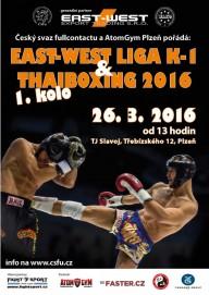 EAST - WEST liga K-1 Plzeň 2016