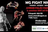 MG fight night gala, Pardubice